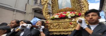Procesión Madre Dolorosa centro de Quito
