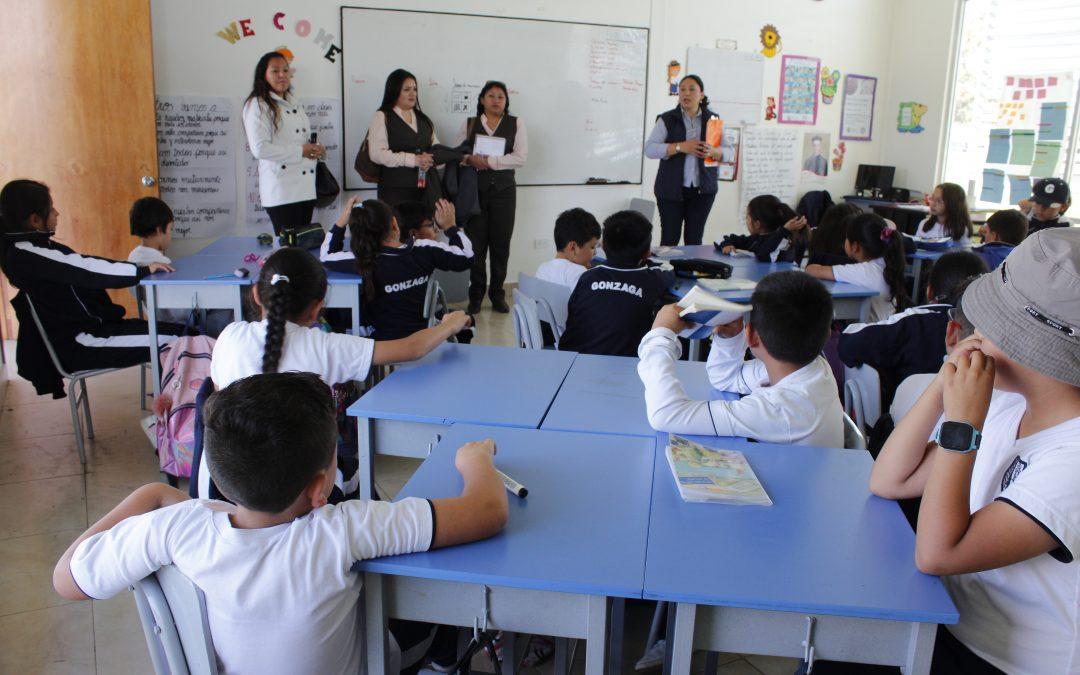 Colegio Ecuatoriano Suizo conoce el proyecto InnovAcción XXI