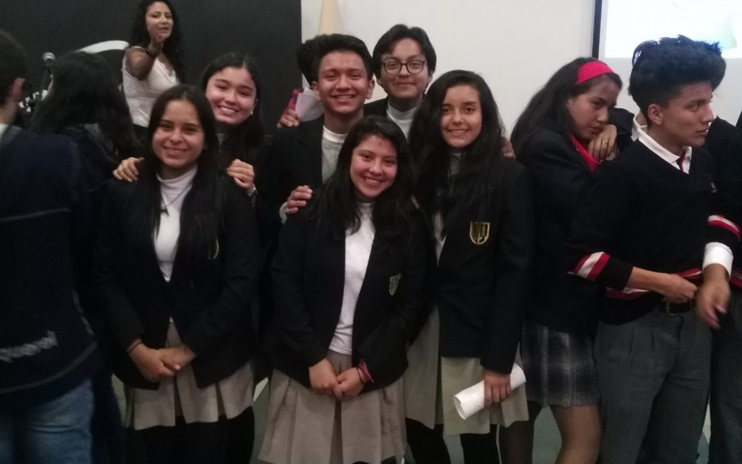 Gonzaga participa en Junior Achievement Ecuador